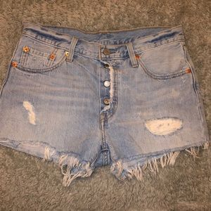 Jean Shorts from Levi